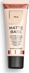 Makeup Revolution Matte Base Foundation F6.5 28ml