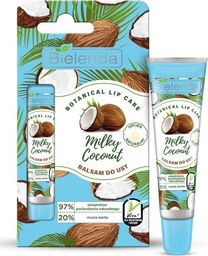Bielenda Bielenda Botanical Lip Care Balsam do ust Milk Coconut - naturalny 10g
