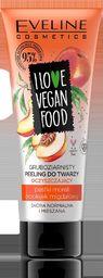 Eveline Eveline I Love Vegan Food Peeling do twarzy gruboziarnisty oczyszczający 75ml