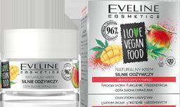 Eveline Krem do twarzy I Love Vegan Food Olej Konopny-Mango odżywczy 50ml