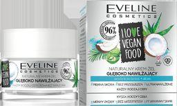 Eveline Krem do twarzy I Love Vegan Food Woda Kokosowa-Aloes nawilżający 50ml