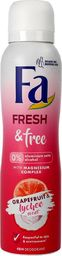 Fa Fa Fresh & Free 48H Dezodorant spray Grapefruit & Lychee  150ml