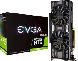 Karta graficzna EVGA GeForce RTX 2060 SUPER SC Black Gaming 8GB GDDR6 (08G-P4-3062-KR)