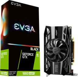 Karta graficzna EVGA GeForce GTX 1660 SUPER Black Gaming 6GB GDDR6 (06G-P4-1061-KR)