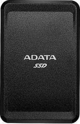Dysk zewnętrzny ADATA SSD SC685 1 TB Czarny (ASC685-1TU32G2-CBK)