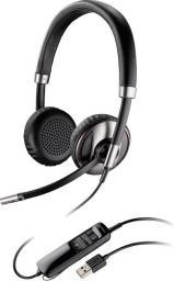 Słuchawki Plantronics Blackwire C720-M, Czarne