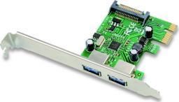 Kontroler Conceptronic PCIe x1 - 2x 3.0 (EMRICK01G)