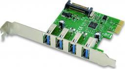 Kontroler Conceptronic PCIe x1 - 4x USB 3.0 (EMRICK02G)