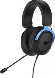 Słuchawki Asus TUF H3 Gaming Headset niebieskie (90YH029B-B1UA00)