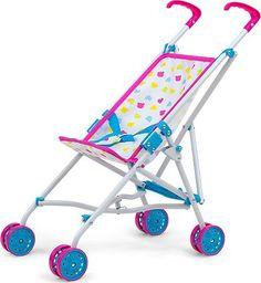 Milly Mally Milly Mally Wózek dla lalek Julia Candy