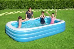 Bestway Basen dmuchany Deluxe Blue prostokątny 305cm x 183cm x 56cm (54009)
