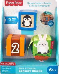 Mattel Kolorowe zwierzątka Klocki (GJW13)