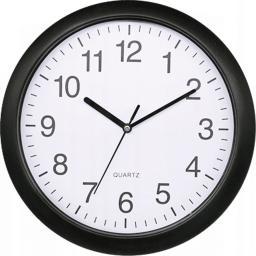 Platinet zegar ścienny okrągły czarny CLOCK RAINBOW (PZRAB)