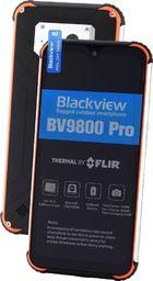Smartfon Blackview BV9800 Pro 128 GB Dual SIM Czarno-pomarańczowy