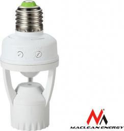 Maclean Oprawa żarówki z czujnikiem ruchu i zmierzchu (MCE24 )