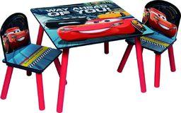 Global Global Stolik 50x50 i 2 krzesełka dla dzieci Cars Auta uniwersalny