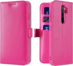Dux Ducis Dux Ducis Kado kabura etui portfel pokrowiec z klapką Xiaomi Redmi Note 8 Pro różowy uniwersalny