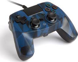Gamepad Snakebyte przewodowy niebieski kamufla 4 S CAMO BLUE (PS4)