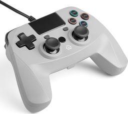 Gamepad Snakebyte PS4 przewodowy szary 4 S