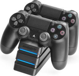 Snakebyte podwójna stacja ładująca TWIN:CHARGE 4 do padów PS4 czarna