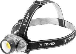 Topex Latarka czołowa 3W LED COB 3xAAA
