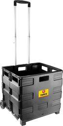 Topex Wózek transportowy (Wózek transportowy, składana skrzynka, udźwig 35kg)