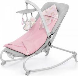 KinderKraft Leżaczek Felio Różowy 2020