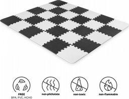 KinderKraft Luno Mata piankowa puzzle Czarna