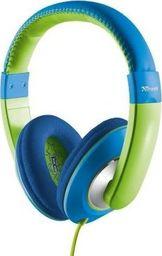 Słuchawki Trust Słuchawki dla dzieci Sonin niebiesko/zielone -20729