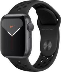 Smartwatch Apple Watch Nike Series 5 GPS 40mm Grey Alu Czarny  (MX3T2WB/A)