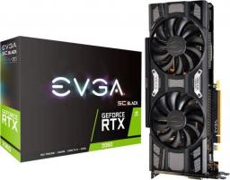 Karta graficzna EVGA GeForce RTX 2060 SC Black Gaming 6GB GDDR6 (06G-P4-1762-KR)