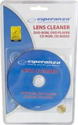 Esperanza ESPERANZA ES123 - 5901299944639 ESPERANZA ES123 - Płyta Czyszcząca do Napędów CD/DVD/BR
