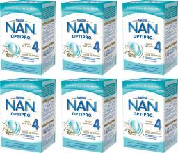 Nestle Mleko modyfikowane Nan OptiPro 4 dla dzieci po 2. roku 6x800g