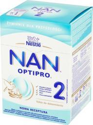 Nestle Mleko modyfikowane Nan OptiPro 2 dla niemowląt powyżej 6. miesiąca 800g