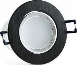 Polux oprawa podtynkowa MOON LED 6,5W 500lm czarna 6400K (6480021)