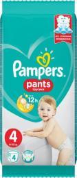 Pampers Pieluchomajtki Pants 4 (9-15kg) 4 szt.