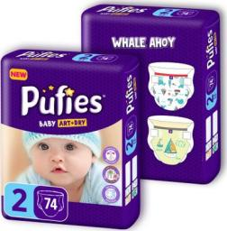 Pufies Pieluchy 2 mini (3-6kg) 148 szt.