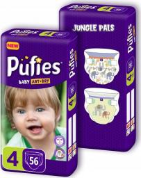 Pufies Pieluchy Baby Art & Dry 4 (7-14kg) 112 szt.