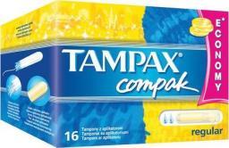 Tampax Tampony z aplikatorem Compak Regular 16 szt.