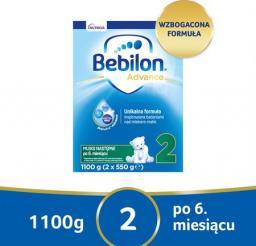 Bebilon Mleko modyfikowane Pronutra-Advance 2 6x1100g
