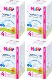 HiPP Junior Combiotik 4 mleko dla dzieci po 2. roku życia 4x900g