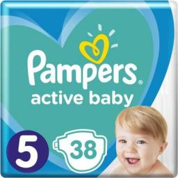 Pampers Pieluchy Active Baby 5 Junior (11-16kg) 38 szt.