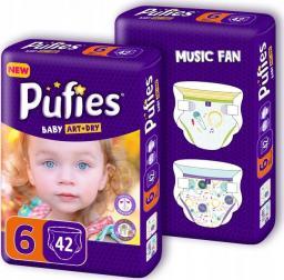 Pufies Pieluchy Baby Art & Dry roz 6 (+13kg)  84szt.