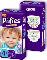 Pufies Baby Art & Dry 4+ (9-16kg) 100 szt.