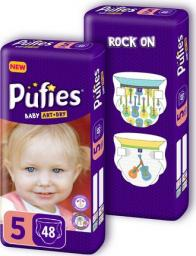 Pufies Pieluchy Baby Art&Dry rozmiar 5 96 szt.