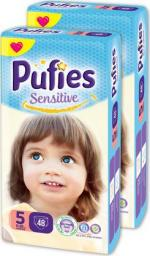 Pufies Pieluchy Sensitive 5 junior Maxi Pack,96 szt.