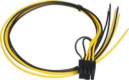 Kabel zasilający Akyga Przewód serwisowy ATX AK-SC-20 PCI-E 6+2-pin 450 mm uniwersalny