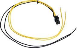 Kabel zasilający Akyga Przewód serwisowy ATX AK-SC-21 P4 450 mm uniwersalny