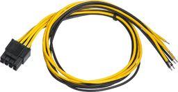 Kabel zasilający Akyga Przewód serwisowy ATX AK-SC-22 EPS 8-pin 450 mm uniwersalny