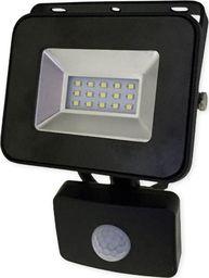 Naświetlacz Bemko BEMKO Naświetlacz wodoodporny IP65 LED 10W 230V z CZUJNIK RUCHU barwa zimna